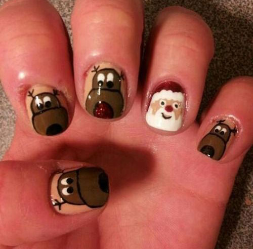 20-Cool-Reindeer-Nail-Art-Designs-Ideas-Trends-Stickers-2014-Xmas-Nails-8