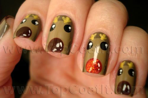 20-Cool-Reindeer-Nail-Art-Designs-Ideas-Trends-Stickers-2014-Xmas-Nails-9