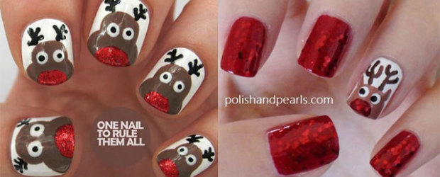 Xmas nails fabulous nail art designs 20 cool reindeer nail art designs ideas trends stickers 2014 xmas nails prinsesfo Choice Image