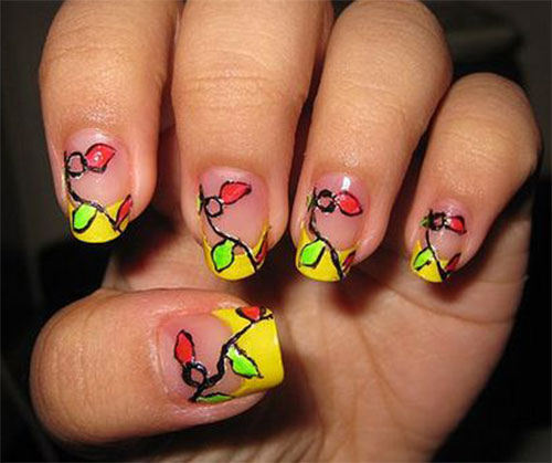 Christmas-Lights-Nail-Art-Designs-Ideas-Stickers-2014-Xmas-Nails-4