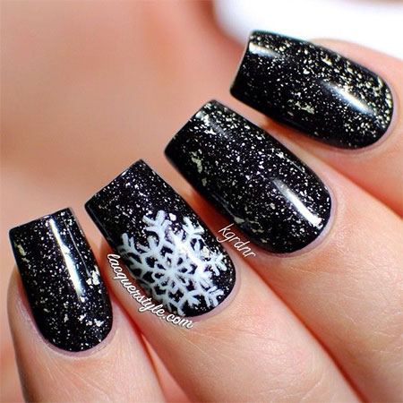 12-Winter-Black-Nail-Art-Designs-Ideas-Trends-Stickers-2015-11
