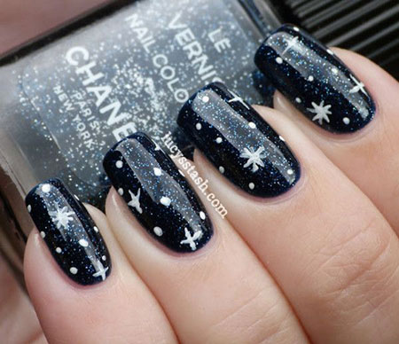 12-Winter-Black-Nail-Art-Designs-Ideas-Trends-Stickers-2015-5