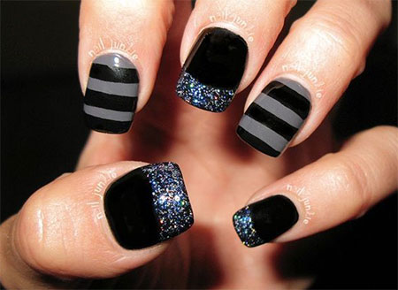12-Winter-Black-Nail-Art-Designs-Ideas-Trends-Stickers-2015-7