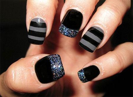 12-Winter-Black-Nail-Art-Designs-Ideas-Trends-Stickers-2015-7