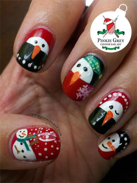 15-Easy-Snowman-Nail-Art-Designs-Ideas-Trends-Stickers-2015-12
