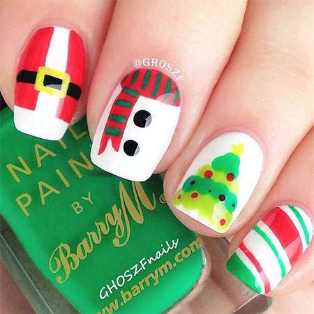 15-Easy-Snowman-Nail-Art-Designs-Ideas-Trends-Stickers-2015-4
