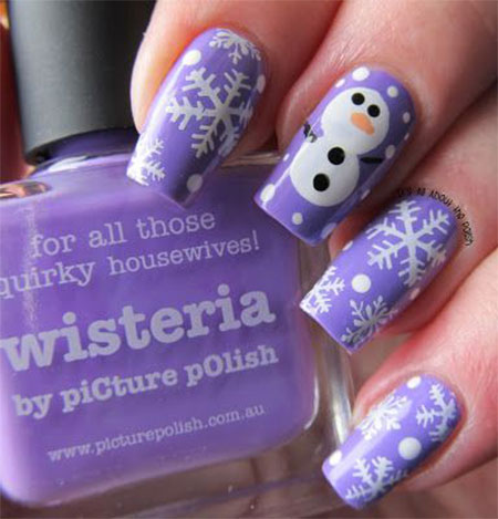 15-Easy-Snowman-Nail-Art-Designs-Ideas-Trends-Stickers-2015-6