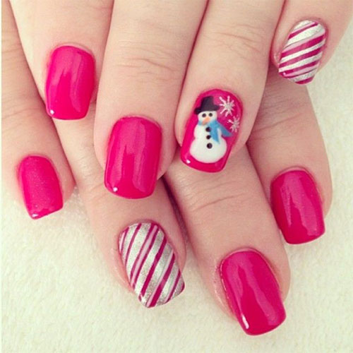 15 Easy Winter Nail Art Designs, Ideas, Trends & Stickers 2014/ 2015