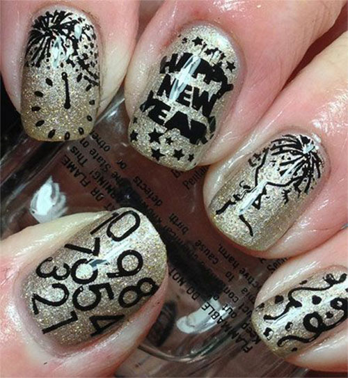 15-Happy-New-Year-Eve-Nail-Art-Designs-Ideas-Trends-Stickers-2014-2015-3