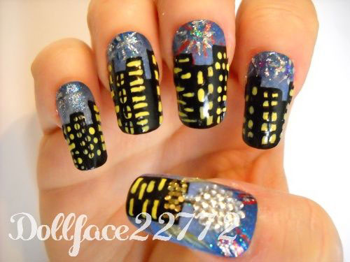 15-Happy-New-Year-Eve-Nail-Art-Designs-Ideas-Trends-Stickers-2014-2015-6