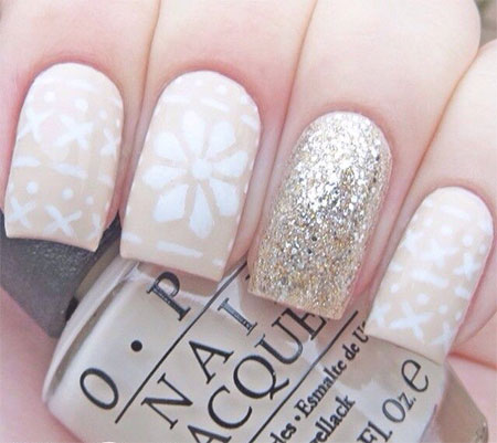15-Pink-Red-Snowflake-Nail Art-Designs-Ideas-Trends-Stickers-2015-7