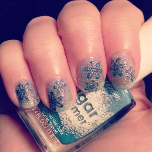 20-Best-Winter-Snowflake-Nail-Art-Designs-Ideas-Trends-Stickers-2014-14