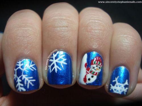 20-Best-Winter-Snowflake-Nail-Art-Designs-Ideas-Trends-Stickers-2014-19