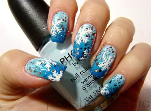 20-Best-Winter-Snowflake-Nail-Art-Designs-Ideas-Trends-Stickers-2014-8