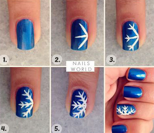 Easy-Step-By-Step-Christmas-Nail-Art-Tutorials-For-Beginners-Learners-2014-6