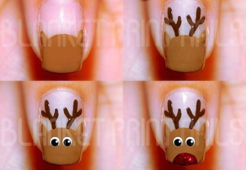 Easy-Step-By-Step-Christmas-Nail-Art-Tutorials-For-Beginners-Learners-2014-8