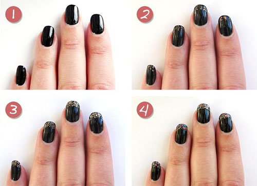 Easy-Step-By-Step-Happy-New-Year-Eve-2014-2015-Nail-Art-Tutorials-For-Beginners-Learners-2
