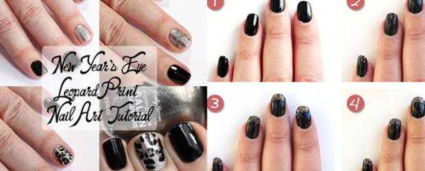 Easy-Step-By-Step-Happy-New-Year-Eve-2014-2015-Nail-Art-Tutorials-For-Beginners-Learners