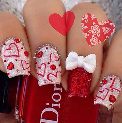 12-Best-3d-Valentines-Day-Nail-Art-Designs-Ideas-Trends-Stickers-2015-4