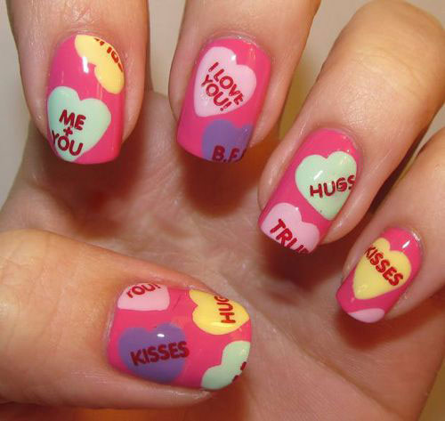 ... Art Ideas Best 25 Candy crush nails ideas on Pinterest | Gold nail,  Rose . - Photo Collection Candy Nail Art Design