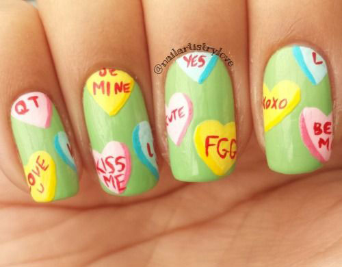12-Valentines-Candy-Heart-Nail-Art-Designs-Ideas-Trends-Stickers-2015-9