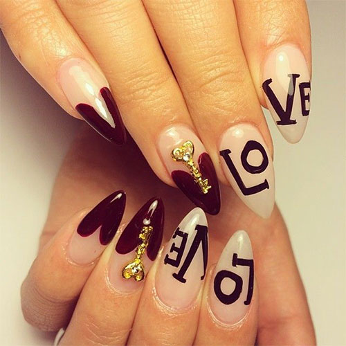 12-Valentines-Day-Little-Heart-Nail-Art-Designs-Ideas-Trends-Stickers-2015-Pointy-Nails-13