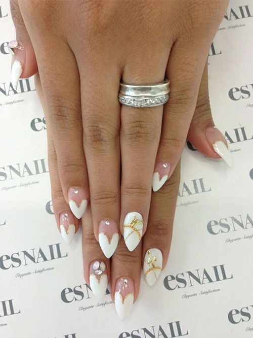 12-Valentines-Day-Little-Heart-Nail-Art-Designs-Ideas-Trends-Stickers-2015-Pointy-Nails-2
