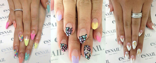 Little heart nail art ideas fabulous nail art designs 12 valentines day little heart nail art designs ideas trends stickers 2015 pointy nails prinsesfo Gallery