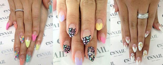Oval nail art nail art ideas nail art design for round nails best 2018 prinsesfo Choice Image