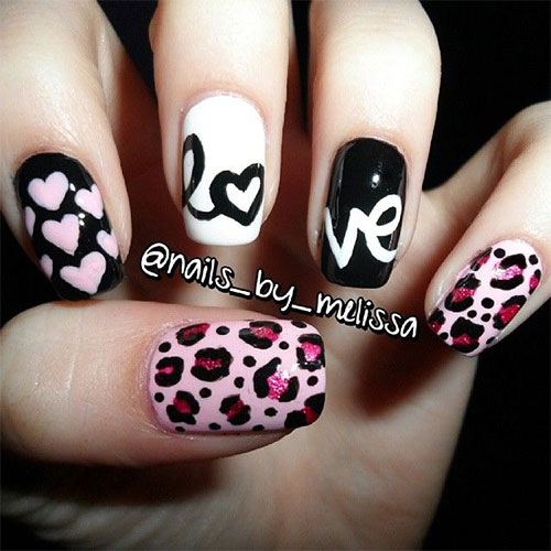 15-Cute-Valentines-Day-I-Love-You-Nail-Art-Designs-Ideas-Trends-Stickers-2015-Love-Nails-11
