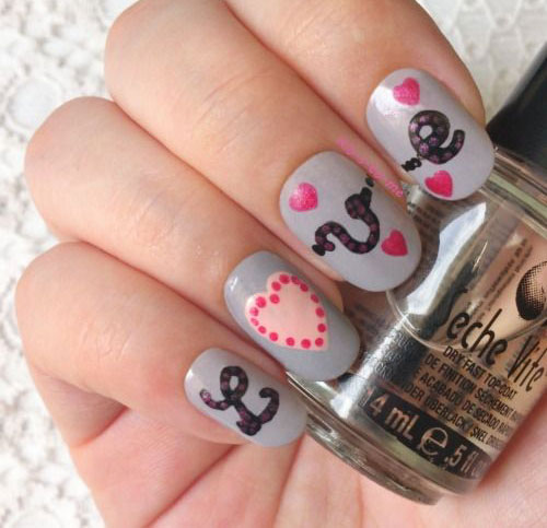 15-Cute-Valentines-Day-I-Love-You-Nail-Art-Designs-Ideas-Trends-Stickers-2015-Love-Nails-13