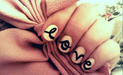 15-Cute-Valentines-Day-I-Love-You-Nail-Art-Designs-Ideas-Trends-Stickers-2015-Love-Nails-14