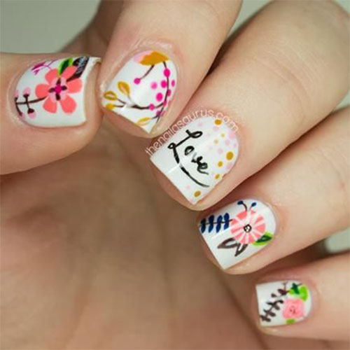 15 Cute Valentine's Day I Love You Nail Art Designs, Ideas, Trends ...