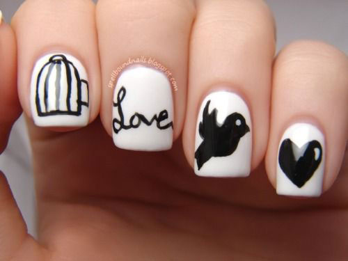 15-Cute-Valentines-Day-I-Love-You-Nail-Art-Designs-Ideas-Trends-Stickers-2015-Love-Nails-9