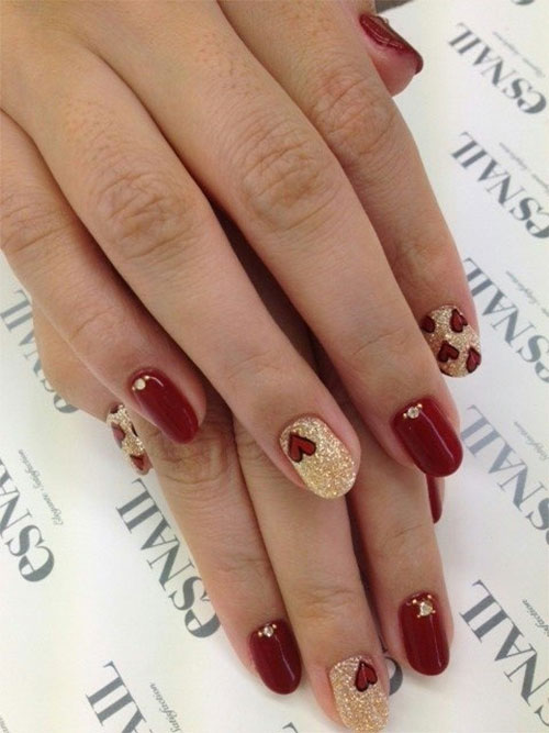 15-Easy-Cute-Valentines-Day-Nail-Art-Designs-Ideas-Trends-Stickers-2015-1