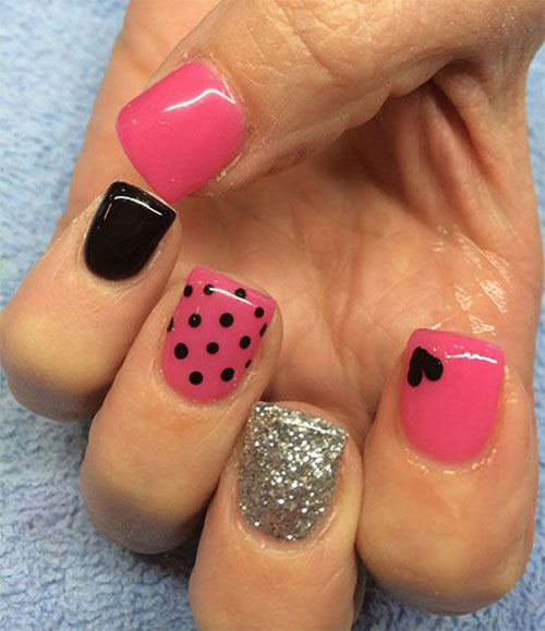 Adorable Nail Art: 15 Easy & Cute Valentine's Day Nail Art Designs, Ideas