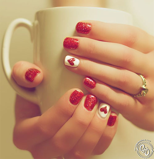 15-Easy-Cute-Valentines-Day-Nail-Art-Designs-Ideas-Trends-Stickers-2015-15