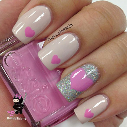 15 Easy & Cute Valentine's Day Nail Art Designs, Ideas