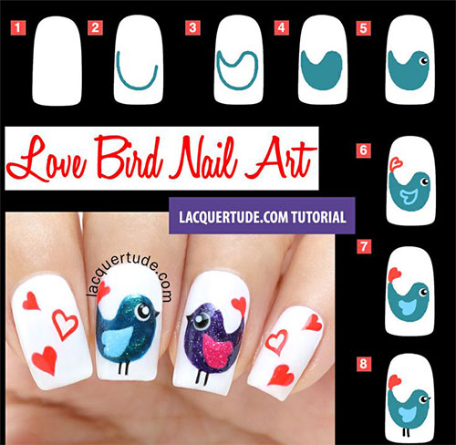 15-Easy-Step-By-Step-Valentines-Day-Nail-Art-Tutorials-For-Beginners-Learners-2015-14