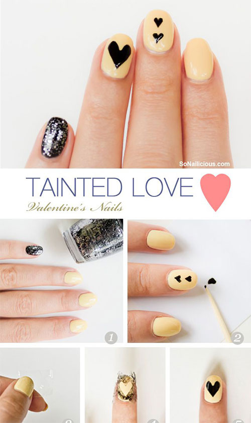 15-Easy-Step-By-Step-Valentines-Day-Nail-Art-Tutorials-For-Beginners-Learners-2015-4