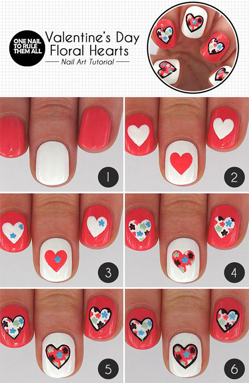 15-Easy-Step-By-Step-Valentines-Day-Nail-Art-Tutorials-For-Beginners-Learners-2015-7