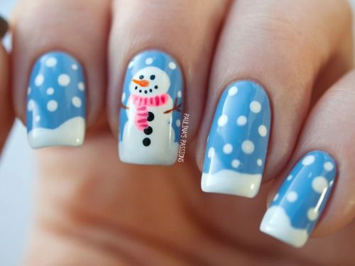 15 snow nail art designs ideas trends stickers 2015 fabulous 15 snow nail art designs ideas trends stickers prinsesfo Gallery
