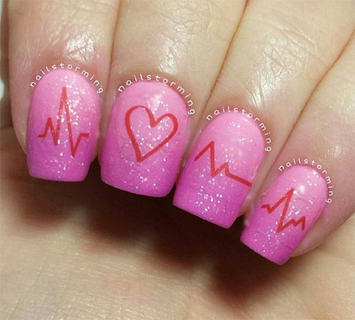 15-Valentines-Day-Love-Heart-Beat-Nail-Art-Designs-Ideas-Trends-Stickers-2015-1