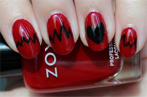 15-Valentines-Day-Love-Heart-Beat-Nail-Art-Designs-Ideas-Trends-Stickers-2015-13