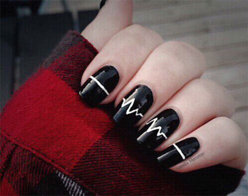 15-Valentines-Day-Love-Heart-Beat-Nail-Art-Designs-Ideas-Trends-Stickers-2015-9