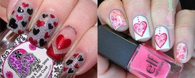 18-Simple-Red-Heart-Nail-Art-Designs-Ideas-Trends-Stickers-2015