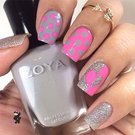 20 best valentine s day acrylic nail art designs ideas