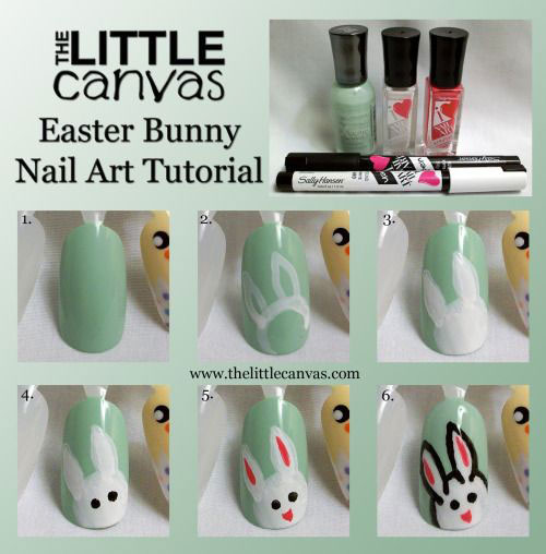 10-Step-By-Step-Easter-Nail-Art-Tutorials-For-Beginners-Learners-2015-1