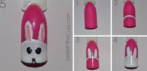 10-Step-By-Step-Easter-Nail-Art-Tutorials-For-Beginners-Learners-2015-10