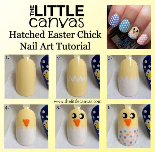 10-Step-By-Step-Easter-Nail-Art-Tutorials-For-Beginners-Learners-2015-2